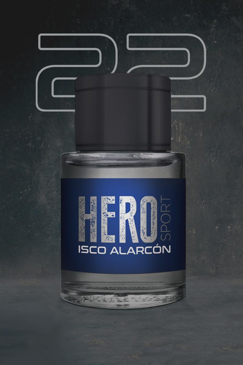 Proyecto Hero Sport Fragancias Isco Alarcón ProjectROOM
