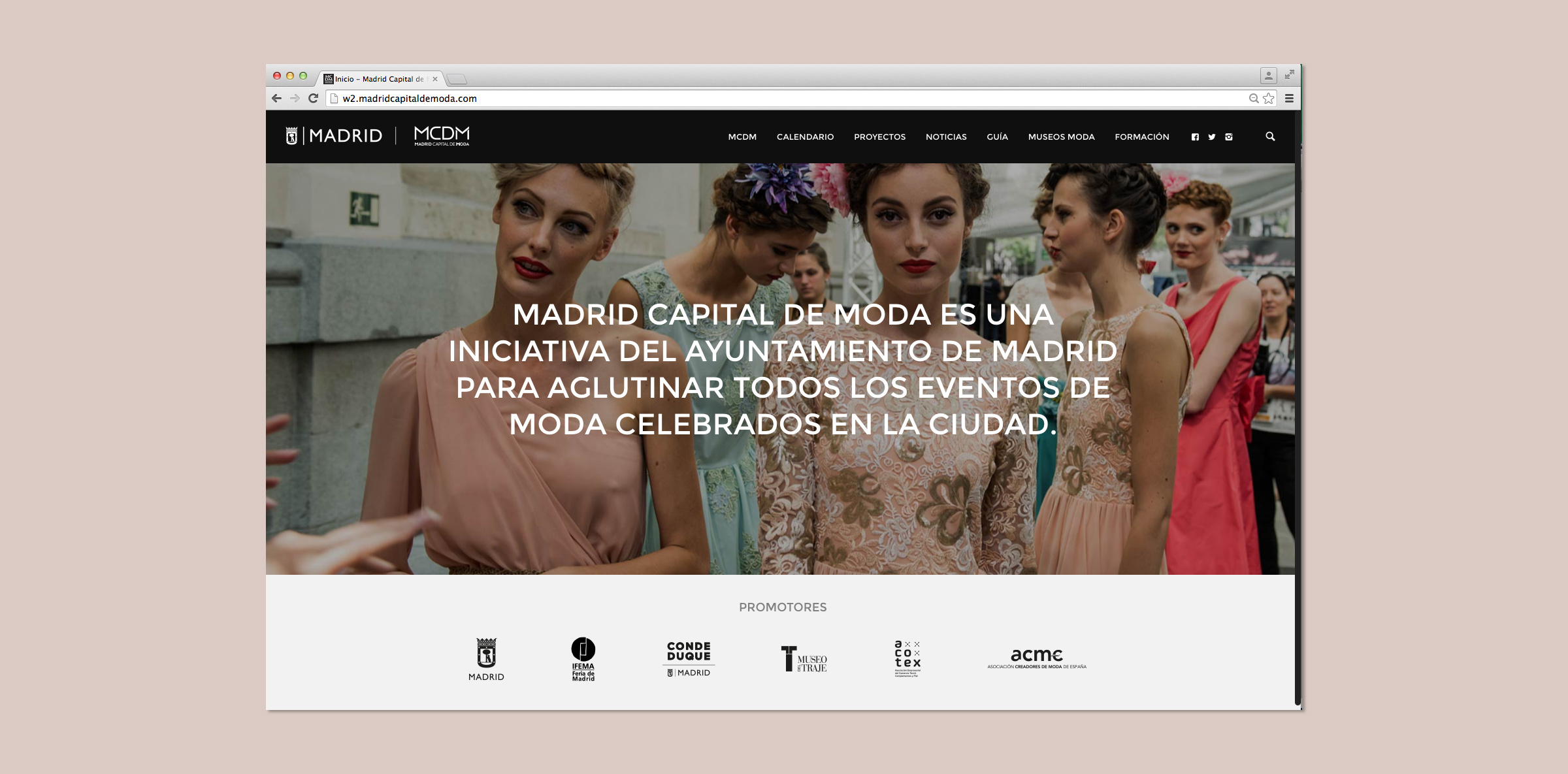 Proyecto Madrid Capital de Moda MCDM ProyectROOM