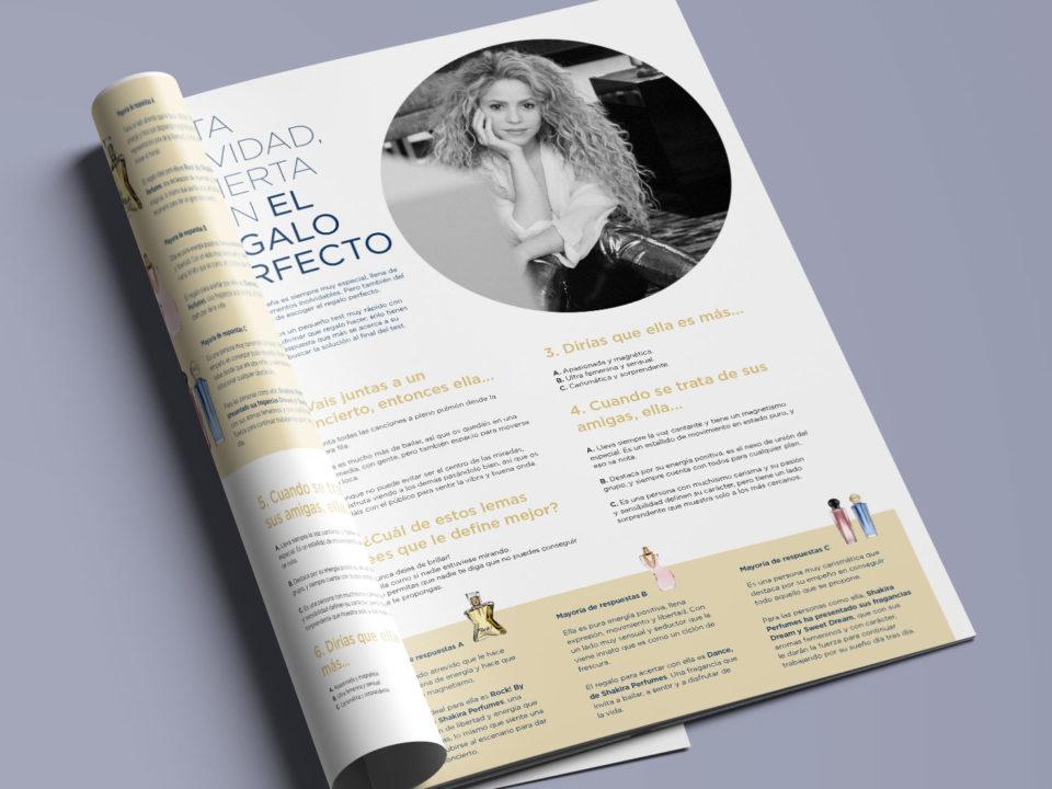 Press Kit perfume Shakira